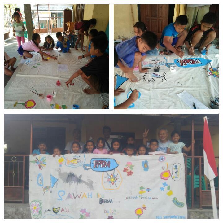 Road Show Festival Tlatah Bocah XIII ke Dusun Ngandong