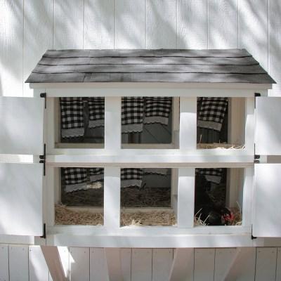 DIY External Nesting Boxes