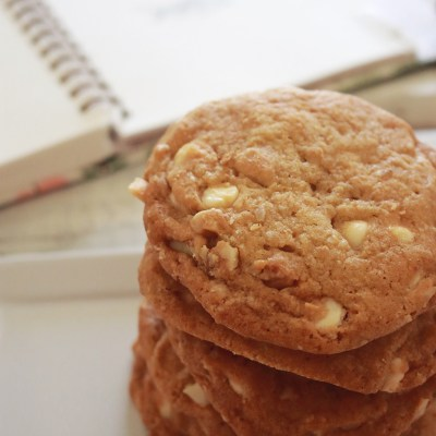 Nutz for White Chocolate Cookies