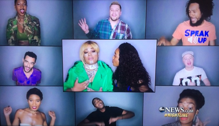 TLC Appeared On ABCs Nightline Last Night To Discuss Their Upcoming Album Funded By Kickstarter Tour And New Singles