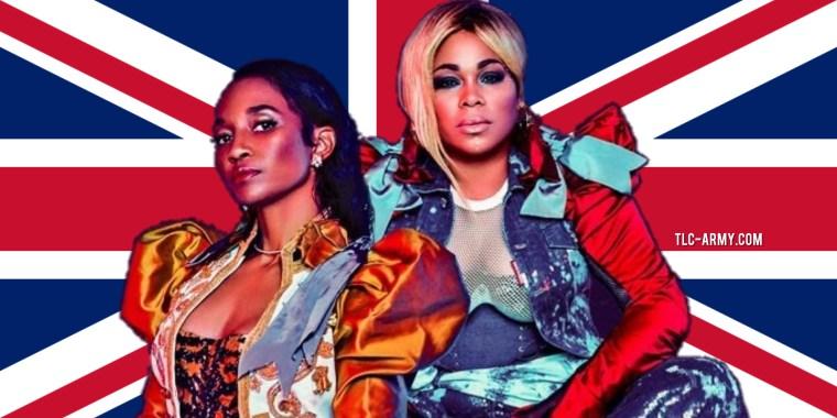 TLC UK TOUR 2020 TLC-ARMY.COM