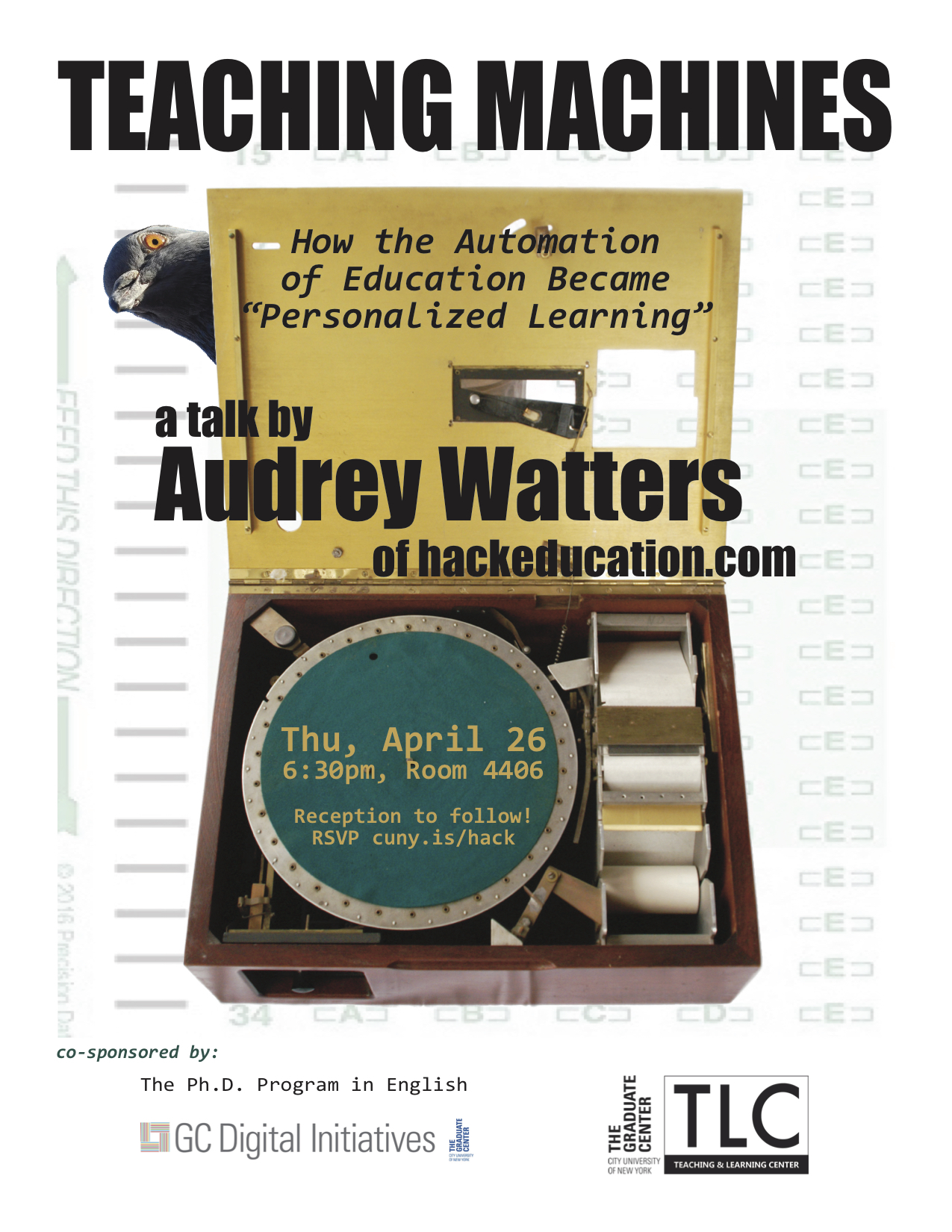 Audrey Watters Poster