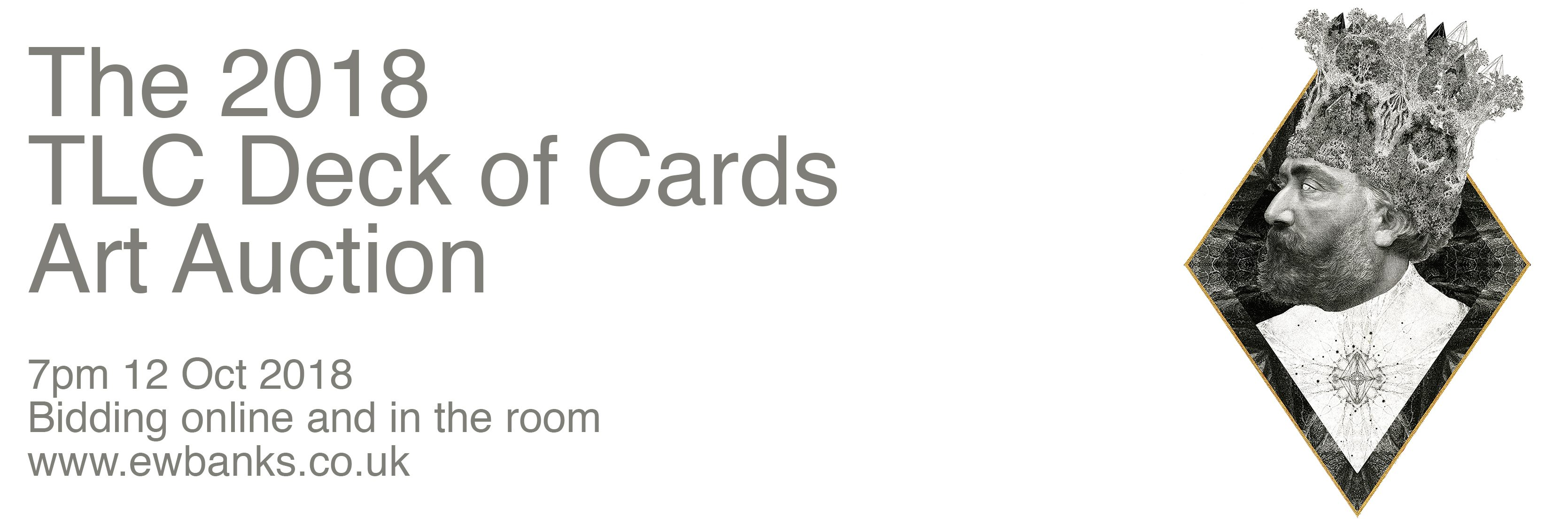 The TLC Deck of Cards Art Auction and Exhibition