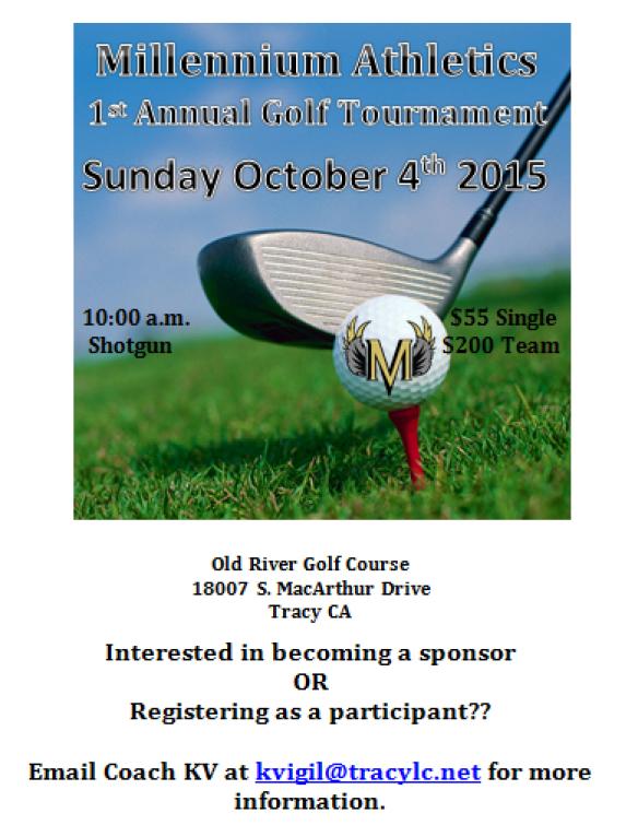 Golf tourney flyer CC