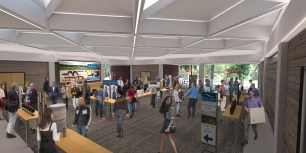 Wine Business Institute, Sonoma State University, TLCD Architecture, Student Commons