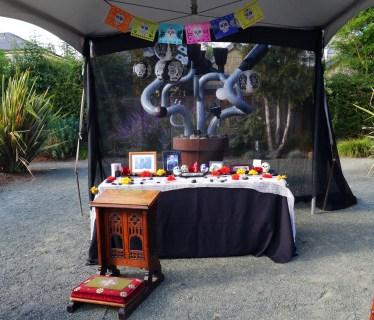 Dia de los Muertos Altar and Sonoma County Art