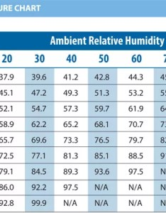 This chart provided by breezair directly from the manufacturer represents approximate air temperatures based on saturation efficiency at sea also evaporative coolers albuquerque  santa fe nm installation rh tlcplumbing