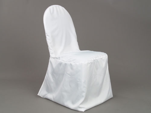 white banquet chair covers electric prop kit standard polyester cover tlc event rentals