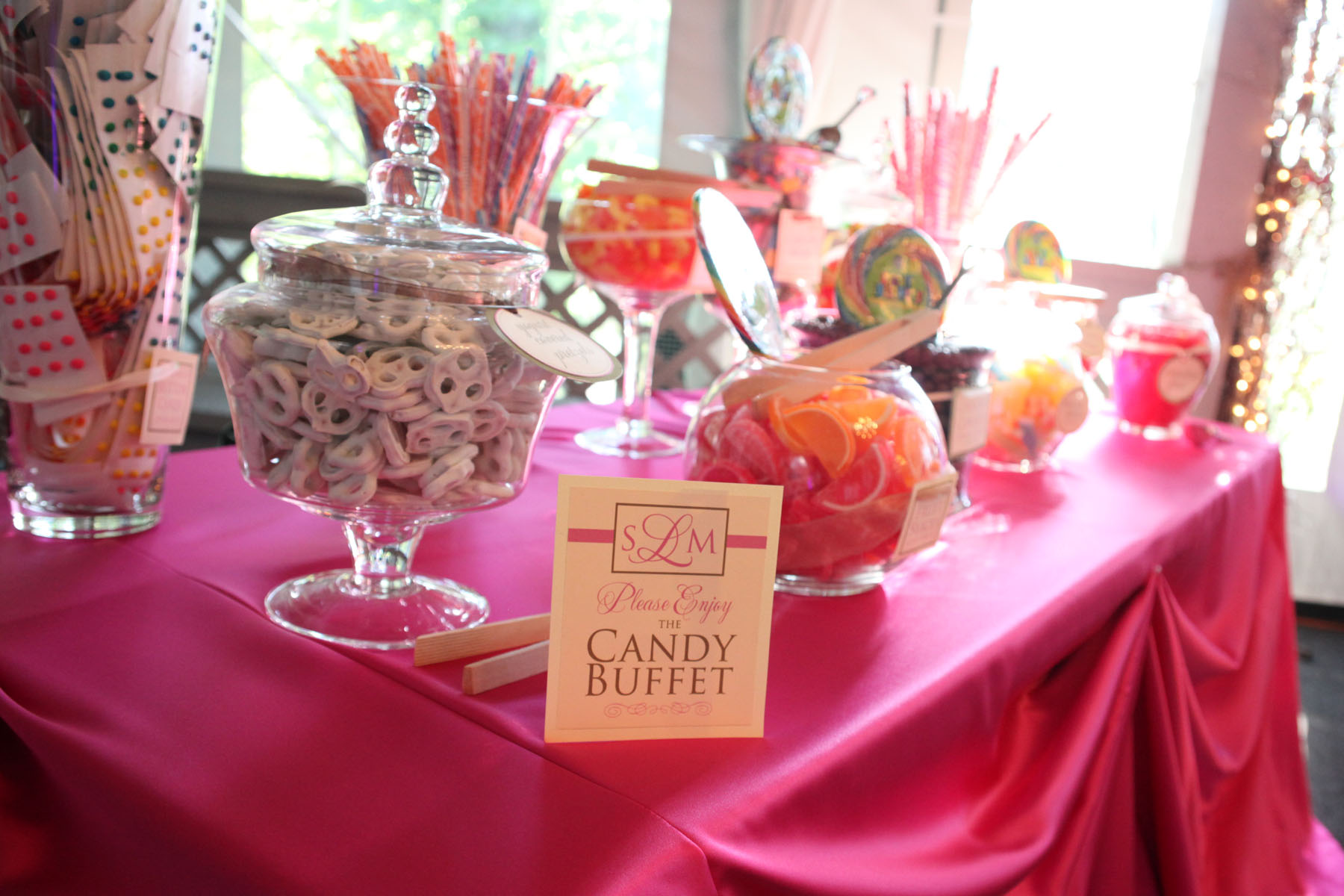 candy buffet  tlcevents