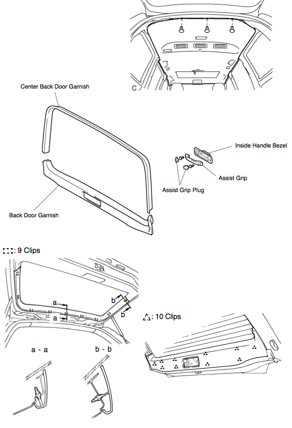 Service manual [How To Remove Rear Hatch Trim On A 2009