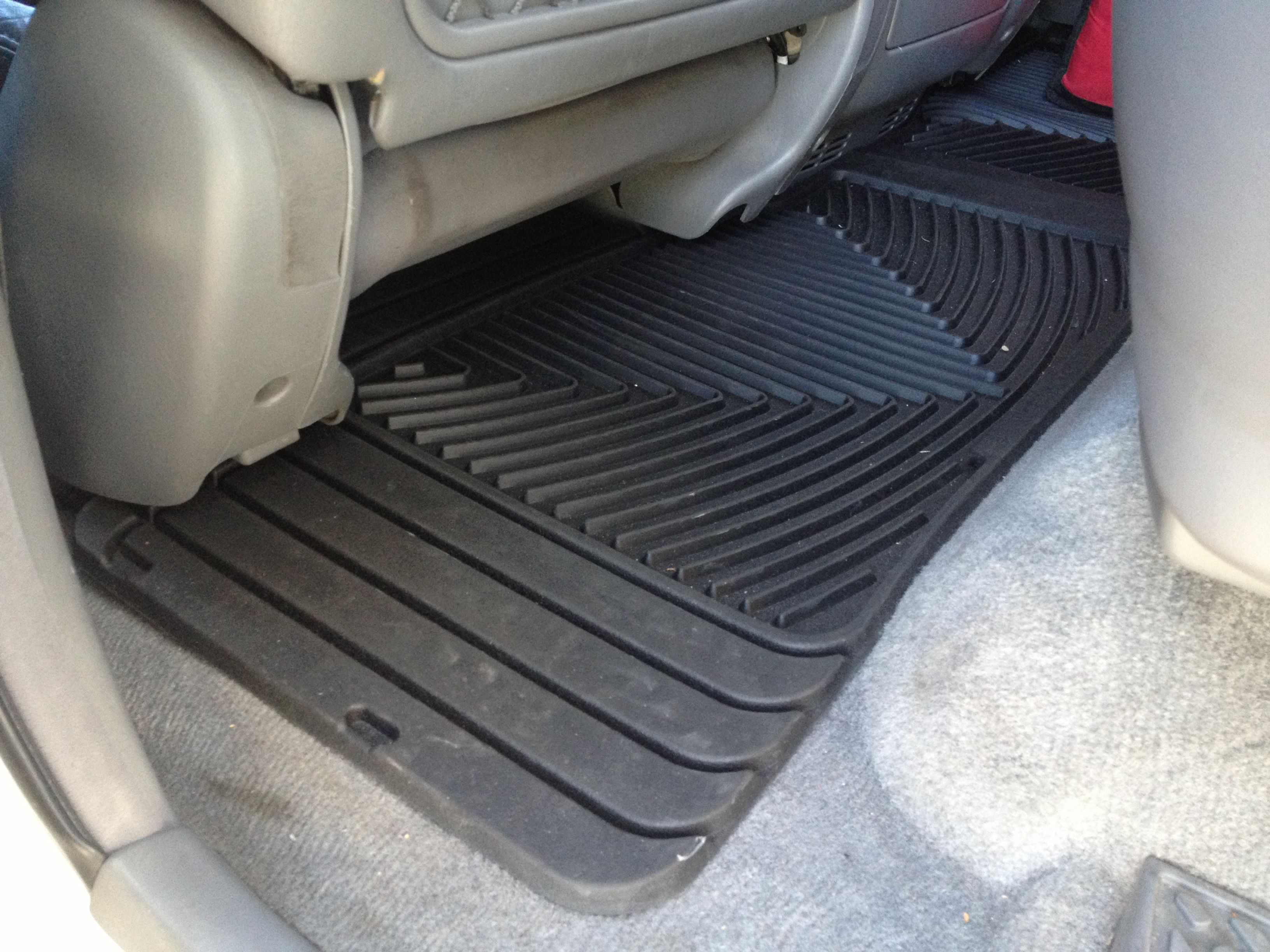 measured laser cargo trunk mats liners rear mat floor weathertech