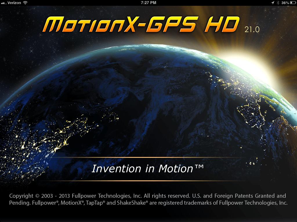 Add Custom Maps to Motion X GPS HD - TLC FAQ