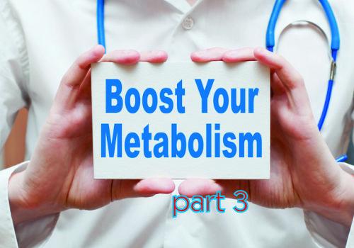 Metabolism … Part 3