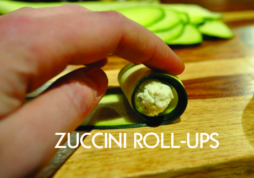 Recipe of the week:  Zucchini rolls stuffed with ricotta