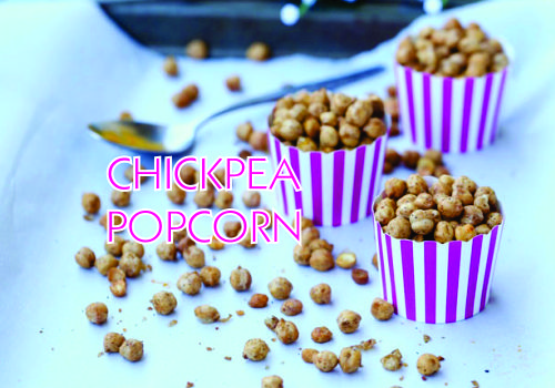 Recipe of the Week:  Chickpea Popcorn