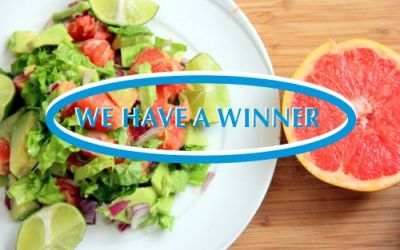 Recipe Competition Winner:  Avo and Grapefruit Salad