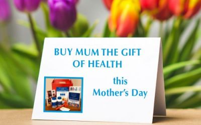 Give Mom a Gift of Health this Mother's Day
