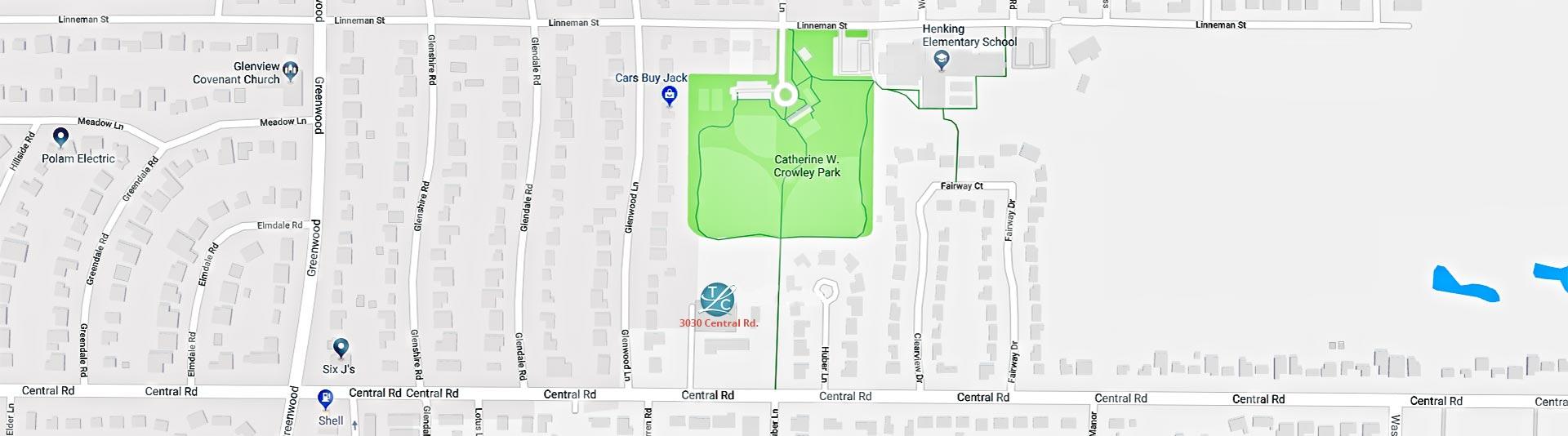 TLC Glenview Map