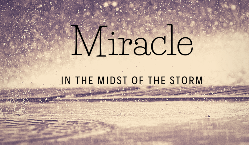 Miracle in the Midst of the Storm