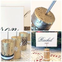 Two Gold DIY Place Card Holders for Your Table - TLC ...
