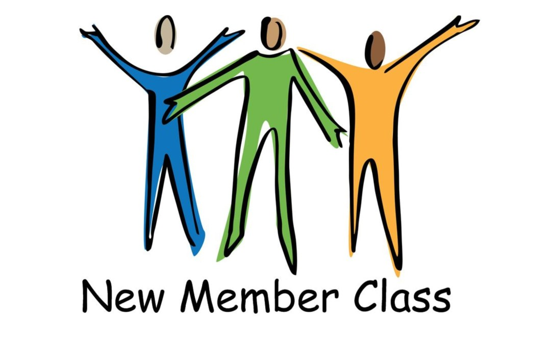 New Member Class Starting October 22