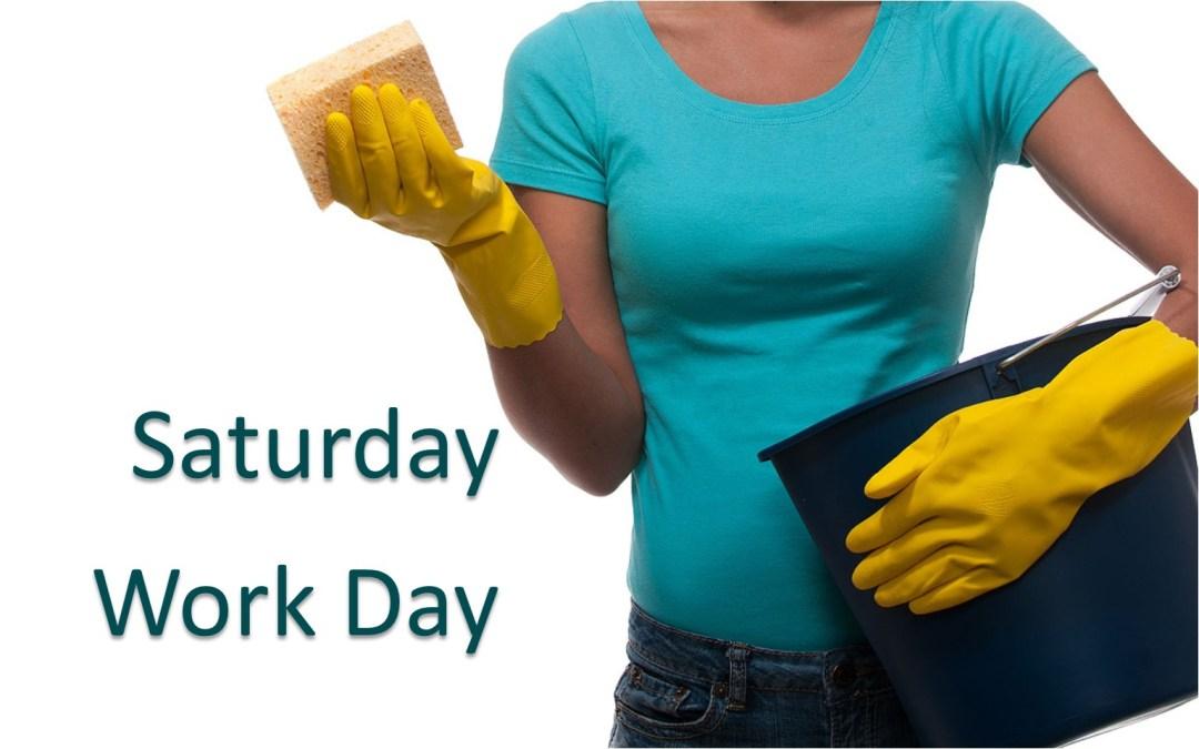 Saturday Work Day