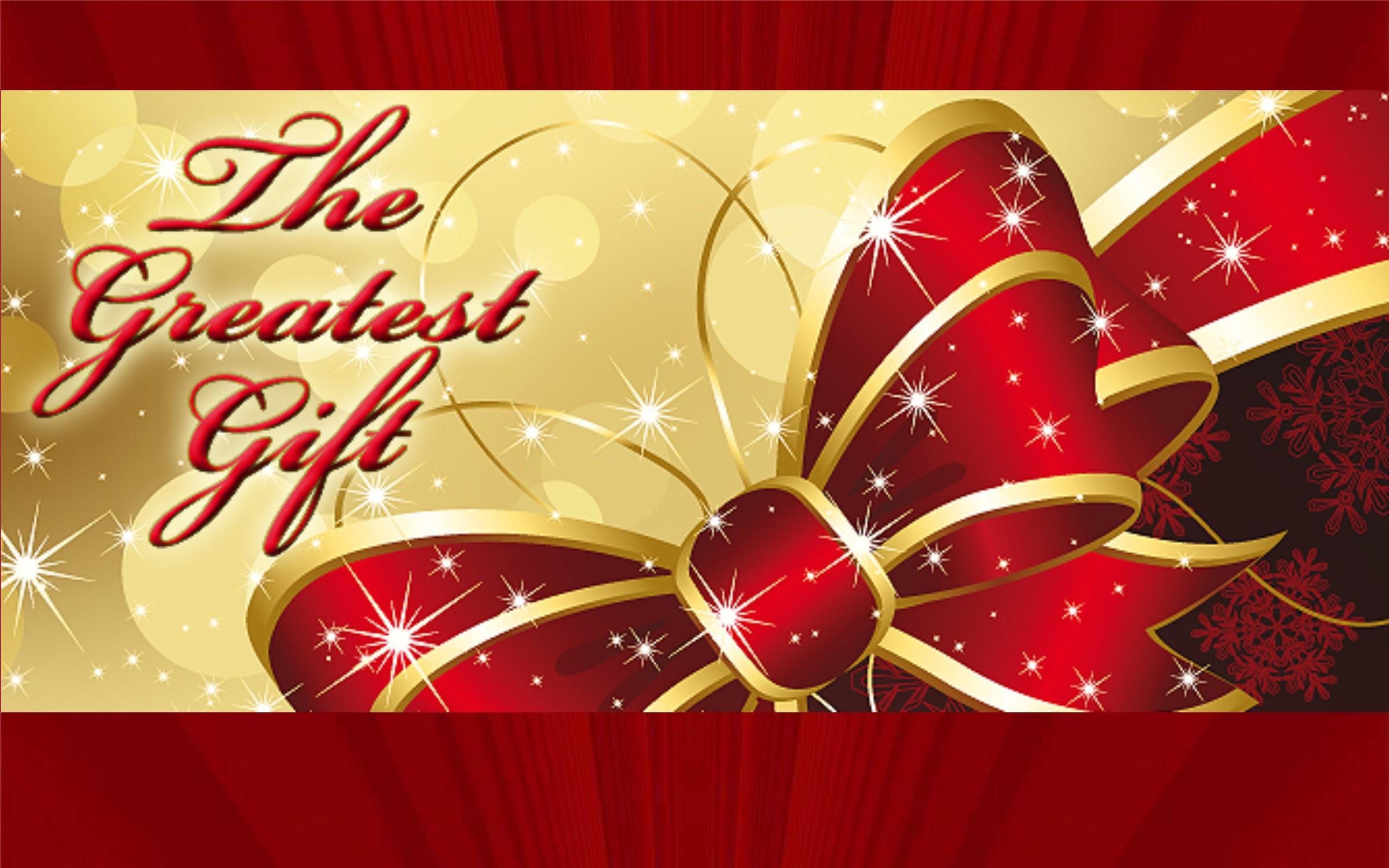 Jesus gift of christmas