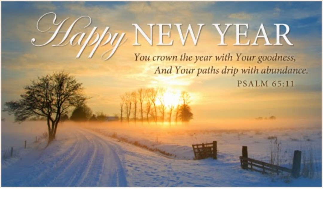 New Year's Worship and Office Schedule