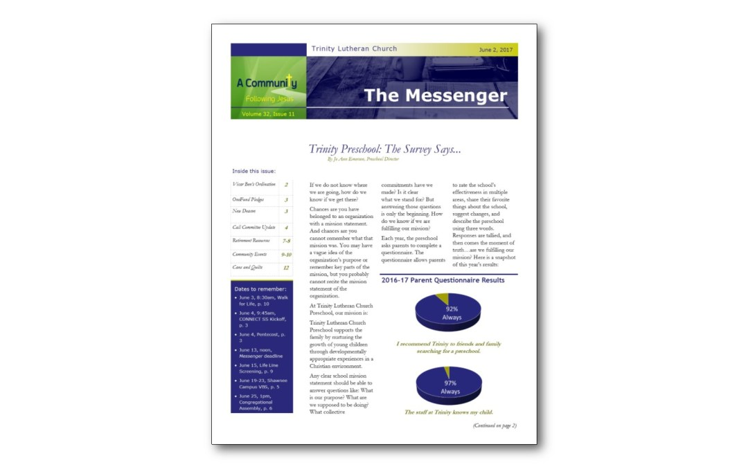 June 2 Messenger
