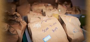Service Project: Food Basket Assembly – Oct. 29