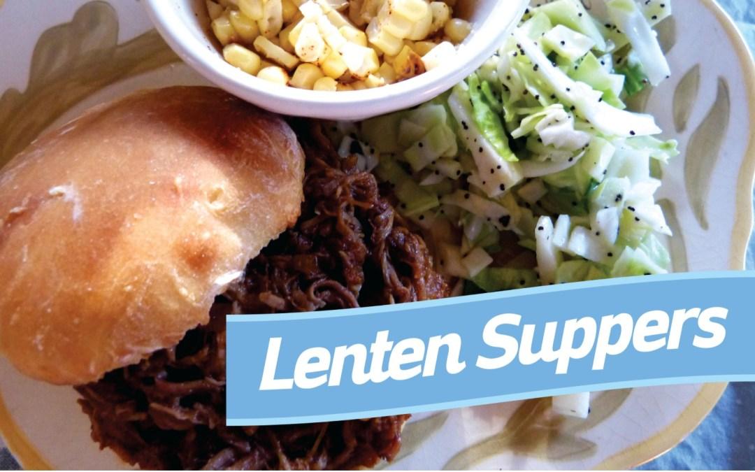 March 13 Lenten Dinner – Shawnee Campus