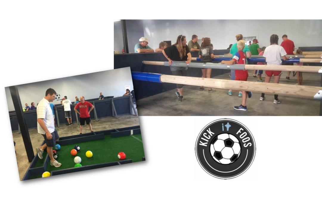 Junior Youth Kick-It-Foos Event