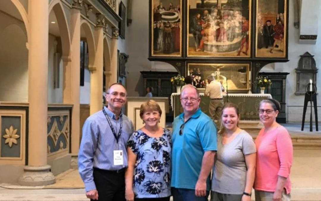 A Postcard from Wittenberg, July 18