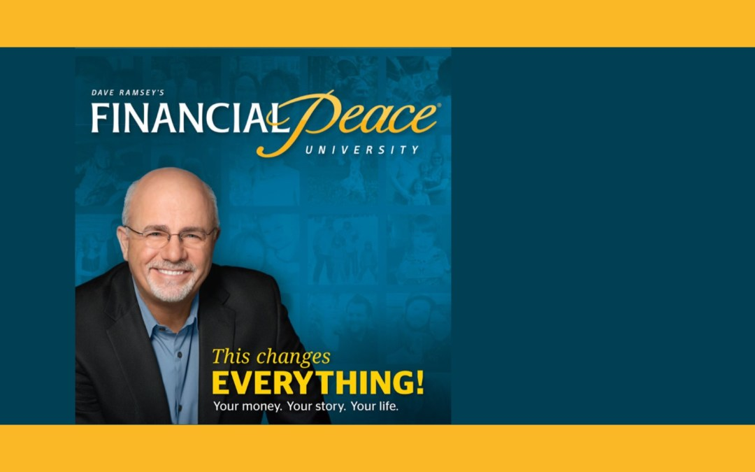 Financial Peace University Classes