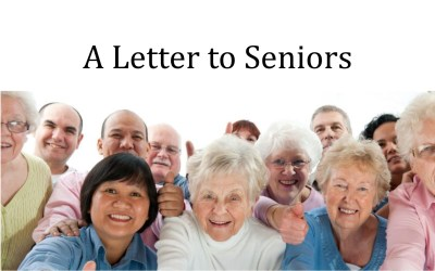 A Letter to Seniors