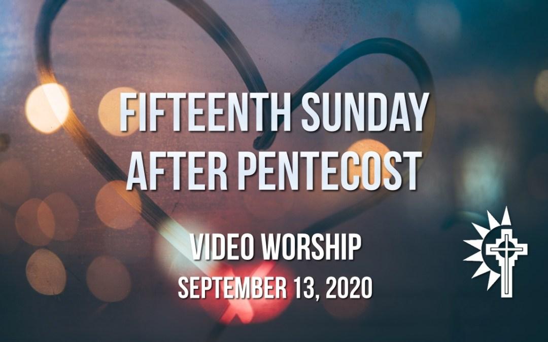 Sunday Worship – September 13