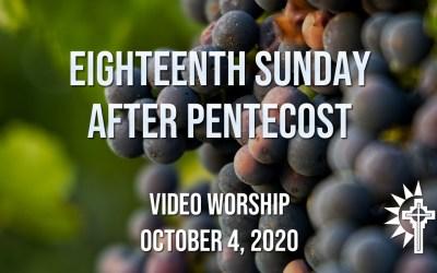 Sunday Worship – October 4