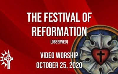 Sunday Worship – October 25