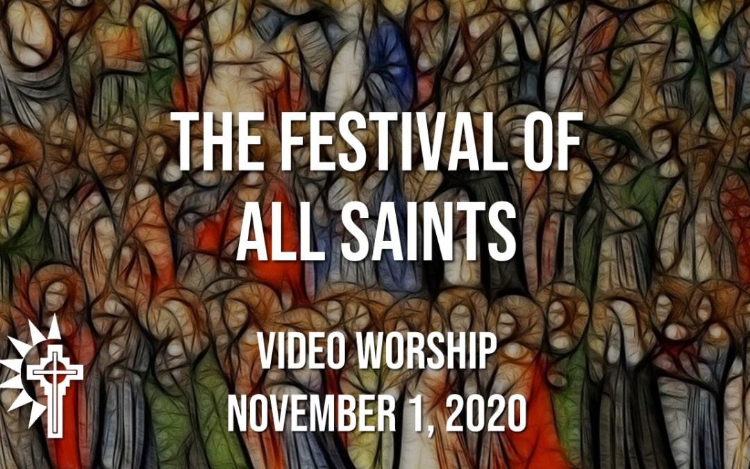Sunday Worship – November 1