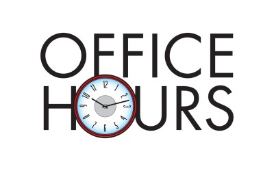 Office Hours Reminder