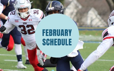 February Youth Schedule