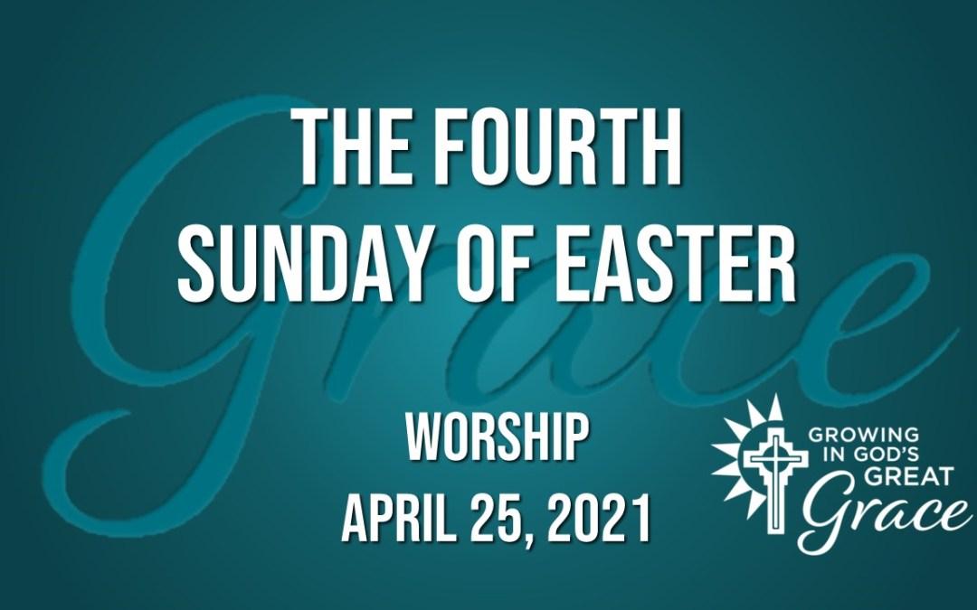Sunday Worship – April 25