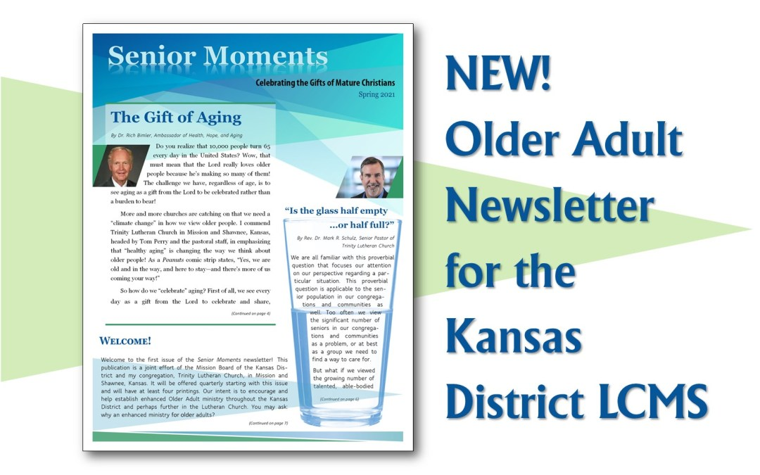 New Older Adult Newsletter!