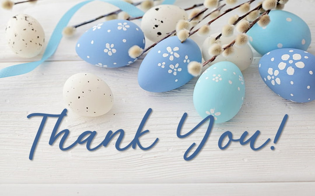 Thank You for Easter Basket Donations!