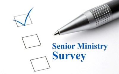 Senior Ministry Survey