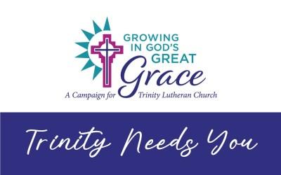 Trinity Needs You!