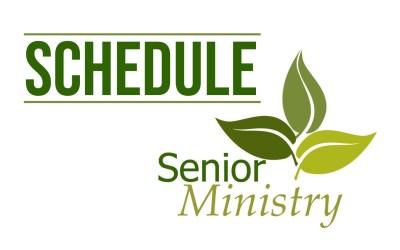 Senior Ministry 2021-2022 Schedule