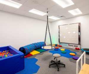 TLC Pediatric Therapies Treatment Room