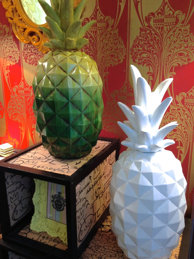 Ceramic Pineapples from Hart & Heim