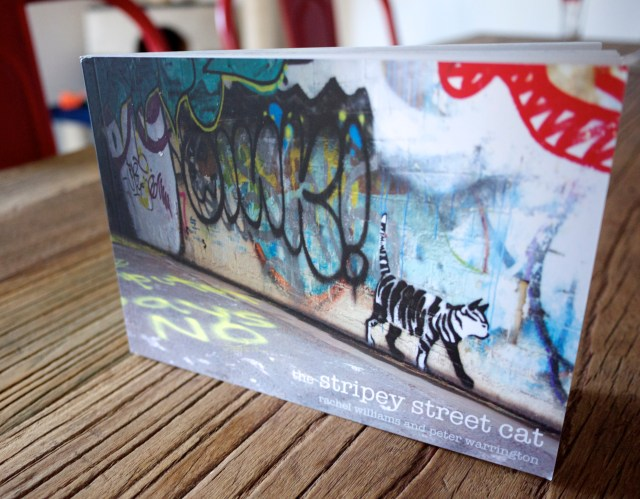 The Stripey Street Cat Graffiti Book